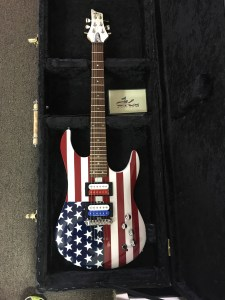 The American Hand Made Electric Guitar