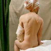 The Valpinçon Bather [After Ingres], 2010