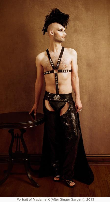 Portrait of Madame X [After Singer Sargent], 2013