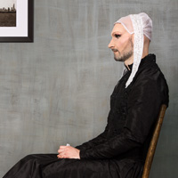 Whistler's Mother (after Whistler), 2015