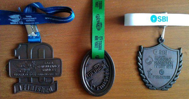 Marathon 2013 medals