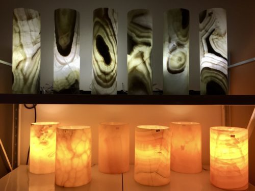 Stone based lamps