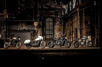 HondaDominator Scrambler, Kawasaki Z900 RS Super Four, MotoArt Vmax 2.0, Sohn Motorcycles M8 Overkill 2300, Tuning Bikes Vergleich, MRD Heft 23/18