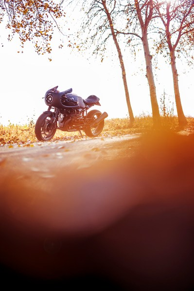 AS BMW R nineT Cafe Racer, Fuel 1/17 Cafe Racer Ausfahrt nach Polen, Märkische Schweiz