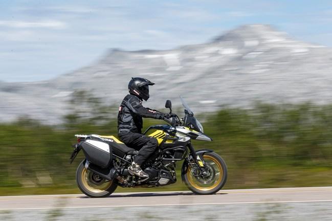 Suzuki V-Storm 1000, Reiseenduro Vergleich, MRD Heft 18/18, Schweden, Norwegen