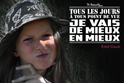 France, Massac, Mona-Lysa champètre.