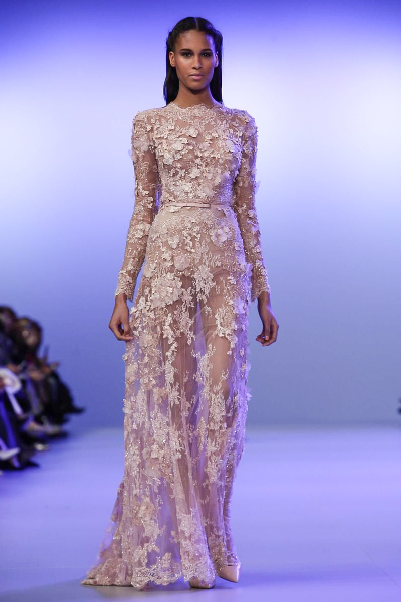 trend report best evening wear looks from couture 2014