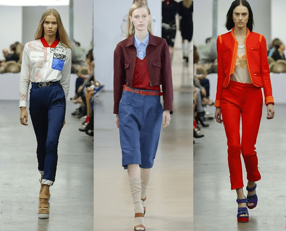 SS15 Retro Inspired Pieces Fashion Week