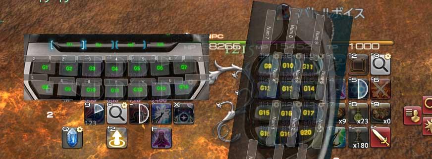 ff14 hud ゲーミングデバイス