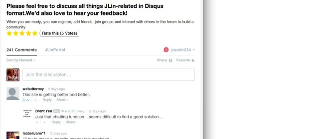 4. Go to Disqus Hangout Room