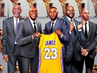 LeBron Signs with the Lakers; Jeremy Lin Reunited with Ed Davis