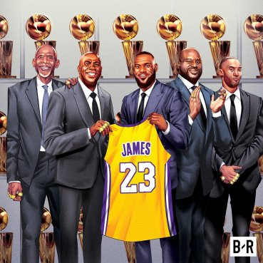 LeBron Signs with the Lakers  Jeremy Lin Reunited with Ed Davis ... 29799bd92