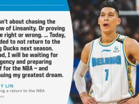 Jeremy Lin Leaves Beijing Ducks to Pursue NBA Comeback