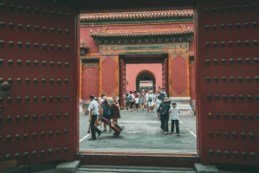 Pekín - Pasillos de La Ciudad Prohibida