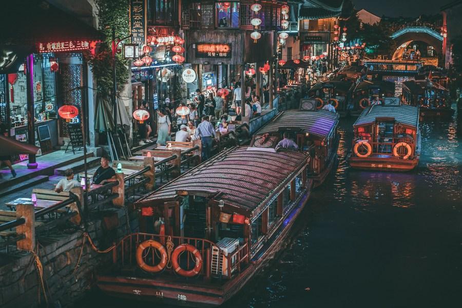 Suzhou - Calle Shantang