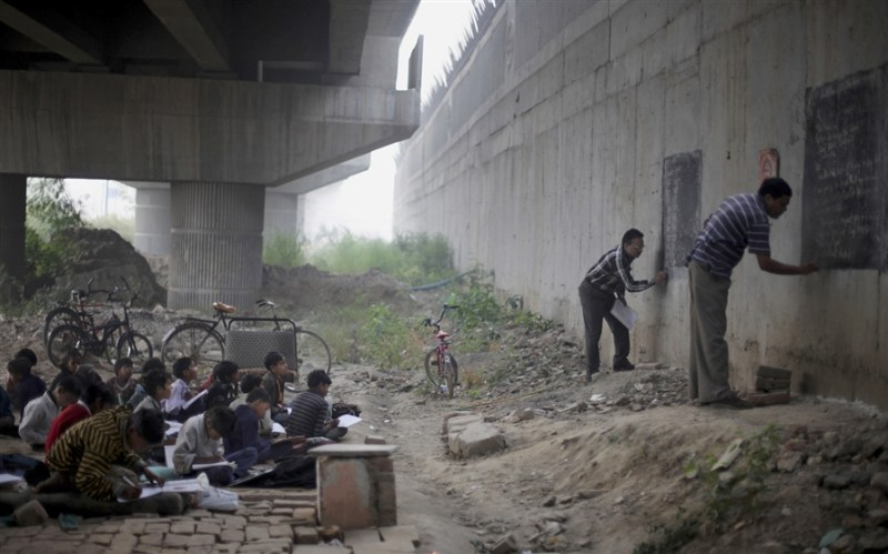 Free school bridge India