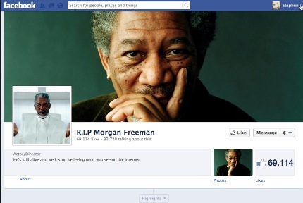 FB Morgan Frreman not dead