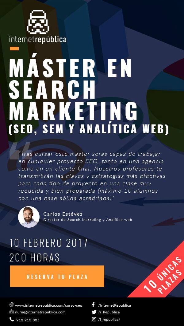Máster en Search Marketing