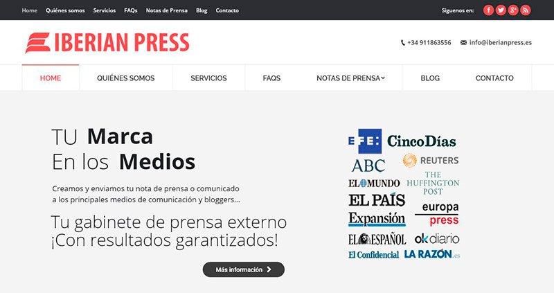 Mejora la visibilidad de tu empresa con Iberian Press