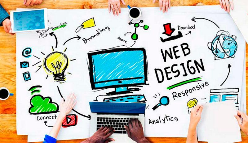 diseño gráfico en un proyecto online