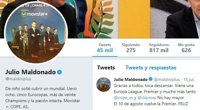 twitter julio maldonado Maldini