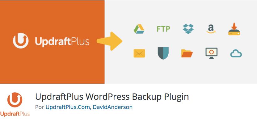 plugin wordpress updraft plus