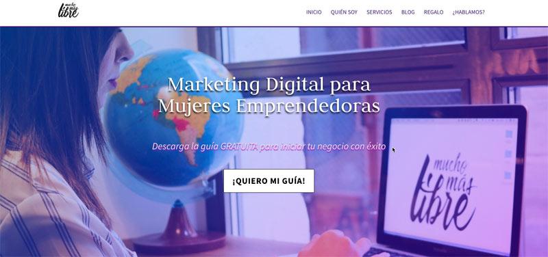 Marketing Digital para Mujeres Emprendedoras