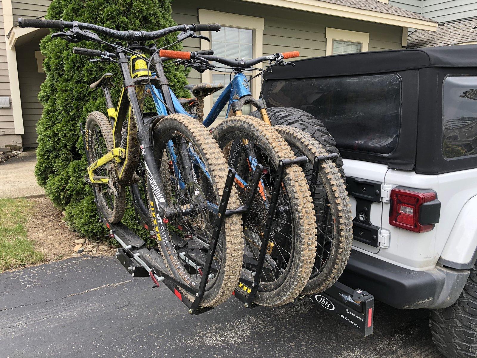 finding the perfect bike rack making