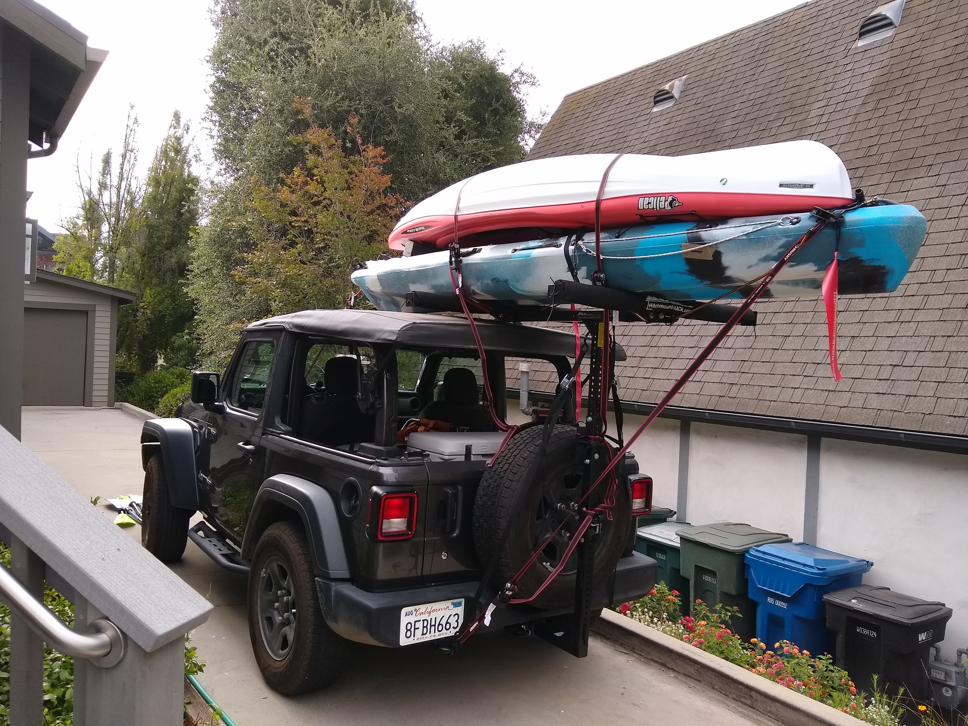 the hitch mount rack 1 5 year review