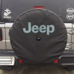Top Jeep Jeep Wrangler Spare Tire Cover With Backup Camera