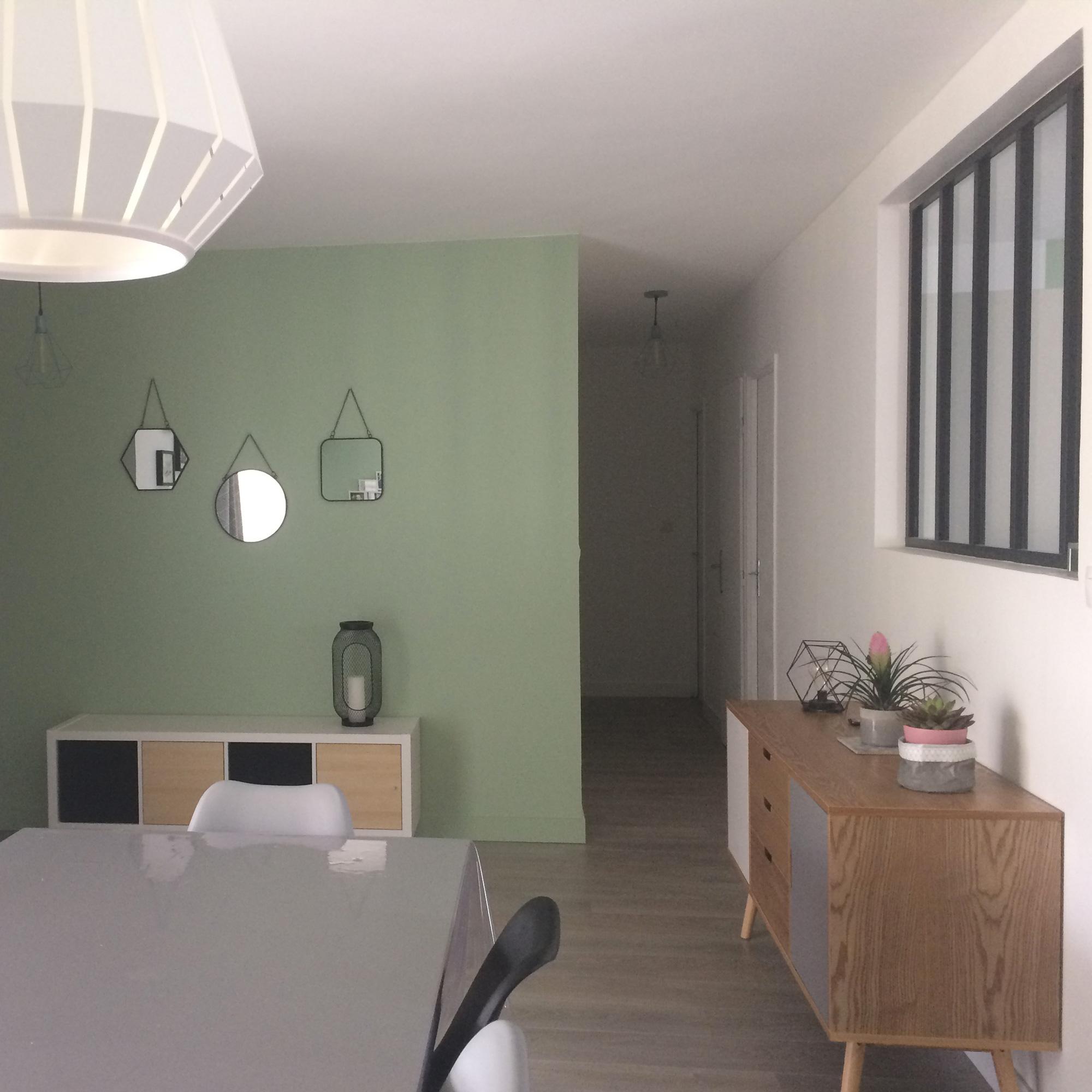 rénovation couloir à Marignane