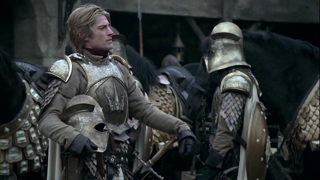 Jaime Lannister, posando (cómo no)