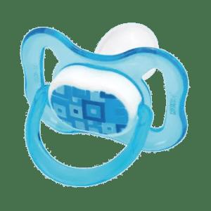Chupeta Kuka Color Decorada Ortodôntica Silicone Azul nº 2