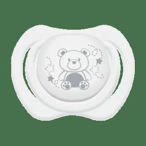 Chupeta Lillo Design Clean Ortodôntica Silicone Branca nº 1