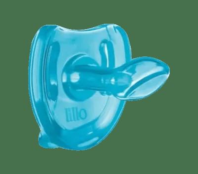 Chupeta Lillo Soft Comfort Anatômico Silicone Azul nº 1