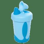 Copo Kuka Soft Antivazamento Azul
