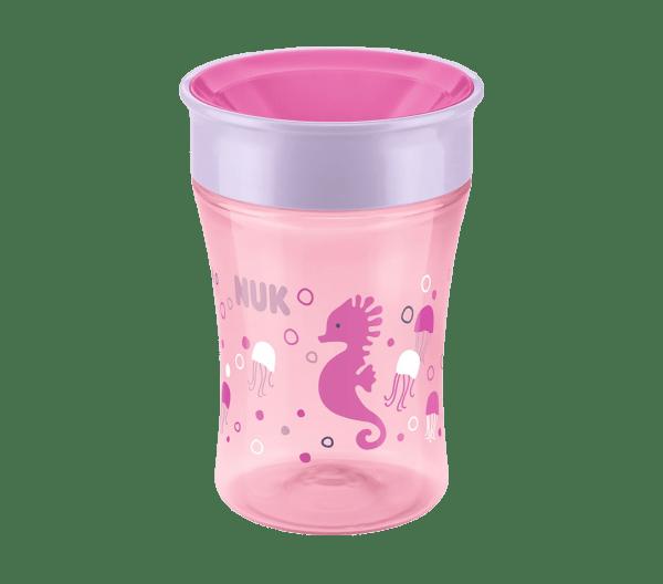 Copo Nuk Magic Cup Antivazamento Silicone Girl