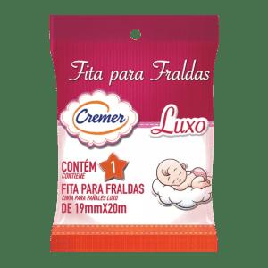 Fita para Fralda Cremer - Cor Rosa