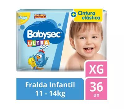 Fralda Babysec Galinha Pintadinha Mega - Tamanho XG