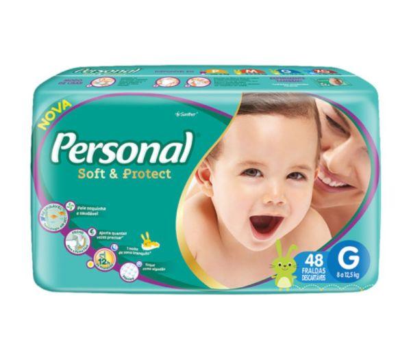 Fralda Personal Baby Mega - Tamanho G