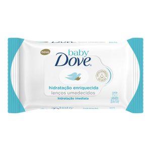 Lenço Umedecido Dove Baby Hidratação Enriquecida