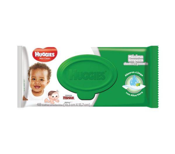Lenço Umedecido Huggies Classic - Embalagem c/48 unidades