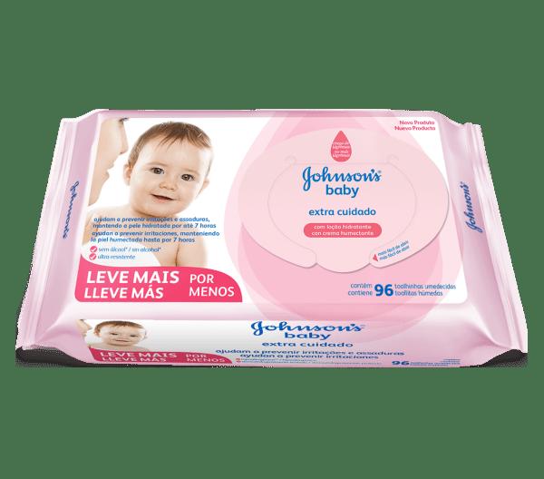 Lenço Umedecido Johnson's Baby Hora de Brincar
