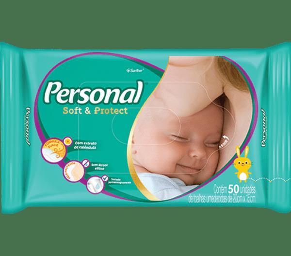 Lenço Umedecido Personal Baby