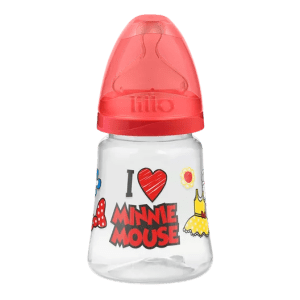 Mamadeira Lillo Disney Ortodôntica Silicone Minnie 180 ml