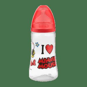 Mamadeira Lillo Disney Ortodôntica Silicone Minnie 300 ml n° 2