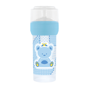 Mamadeira Lillo Primeiro Passos Silicone Azul