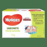 Sabonete Barra Huggies Turma da Mônica Camomila