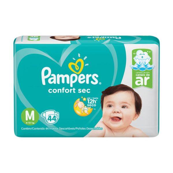 Fralda Pampers Confort Sec Mega - Tamanho M