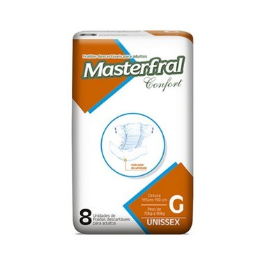 Fralda Masterfral Confort - Tamanho G
